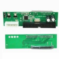 PATA IDE TO SATA Converter Adapter Plug&Plays 7+15 SATA DVD 3.5/2.5 Hot Pin B4H5