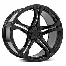 "20"" 20x10/20x11 5x120 MRR M017 Wheels For Chevy Camaro SS Gloss Black Staggered"