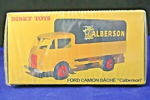 MINT Boxed Reproduction Dinky 25JJ Ford Camion Bache Calberson Atlas Editions