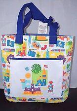 Nwt Disney Magic Kingdom Tote Beach Bag Vinyl