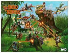 "Dino-Riders * 24"" POSTER * - Cartoon MARVEL Action Universe TYCO Toys"
