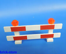 LEGO®  City / Eisenbahn Baustellen Absperrung / Zaun / 1 Stück