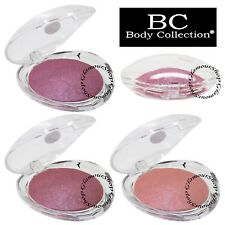 BC Body Collection BAKED Shimmer Blusher Pressed Powder Blush Highlighter