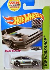 HOT WHEELS 2014 HW WORKSHOP TOYOTA AE-86 COROLLA ZAMAC FACTORY SEALED