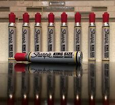 Vintage Sharpie Sanford Marker King Size Red Color! Old School Potent Smell! NOS