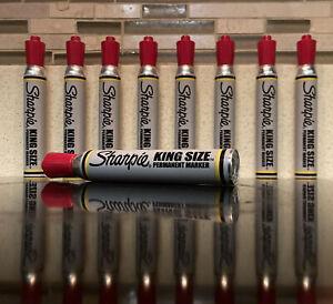 Vintage Sharpie Marker! King Size Red Color! Old School Potent Smell! New!
