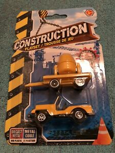 Construction Toys (Cement Mixer & Jeep).
