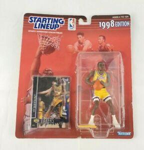 VTG Kobe Bryant Starting Lineup 1998 Edition Kenner Action Figure & Card SEALED