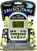 Buzzy Mini Pocket Arcade Classic 2 In 1 Solitaire 2 Games In 1 Age 6 Years & Up