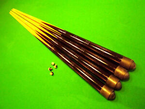 """2 x 36"""" KIDS / SMALL or 42"""" MEDIUM SIZE POOL CUES For HOME & PUB TABLES & Tips"""
