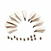 10pcs Dragon Claw Spikes Studs for DIY Leathercraft--Matching Screws AD