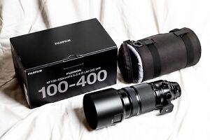 Fujifilm XF 100-400mm f/4.5-5.6 OIS WR - as NEW