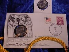 1979 SUSAN B. ANTHONY FIRST DAY OF ISSUE ADAMS, MA.