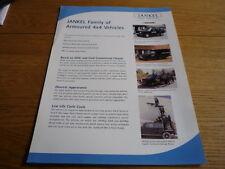 JANKEL ARMOURED VEHICLES Brochure jm
