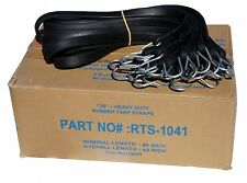 10 Pack 41 Jb Heavy Duty Natural Rubber Tarp Straps Tarp Tie Down Bungee Cords
