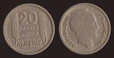 ALGERIA 20 FRANCS 1949 ALGERIE REPUBLIQUE FRANCAISE