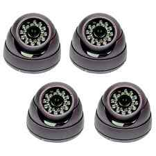 "4 Sony 1/3"" 650TVL CCD Infrared Security Dome DVR CCTV Camera"