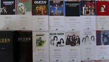 "Queen- CD Single Box- 12 x 3""-MCDs- EMI Japan"