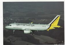 German Wings Airbus A319 Aviation Postcard, A678