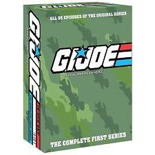 G.I. Joe Complete Original Series Seasons 1 2: 17-DVD NEW! SLIMLINE CASE! GI Joe