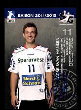 Lasse Svan Hansen Autogrammkarte SG Flensburg Handewitt 2011-12 Origina+A 164364