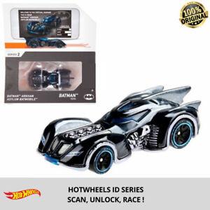 1:64 Hot Wheels id Batman Arkham Asylum Batmobile Kid Model Diecast Toy Car Game