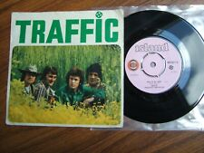 """TRAFFIC - HOLE IN MY SHOE - 7"""" PICTURE SLEEVE ISLAND WIP 6017 / 1967 VG+ / EX"""