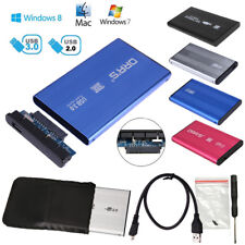"""2,5"""" Zoll USB 3.0/2.0 Gehäuse externe Festplatte HDD SSD SATA Festplattengehäuse"""