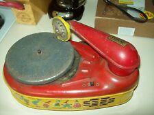 Vintage - TIN -  VOKAC - Record Player - Parts or Repair