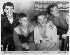 "Eddie Cochran / Gene Vincent / Joe Brown / Billy Fury 10"" x 8"" Photograph no 7"