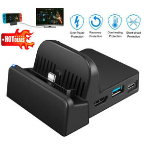 Portable Mini Dock Base HDMI TV Display Switch Dock Station for Nintendo Switch