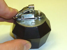 DRAEGER VINTAGE TABLE AUTOMATIC LIGHTER WITH BAKELITE BASE - 1935 - GERMANY