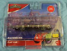 Bachmann 77103 HO/OO Scale Track Chuggington Flat Train Car, Brand New