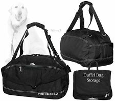 High Sierra Pack-N-Go 3-Way Carry Duffel Bag w/Storage Pouch 44 Liters