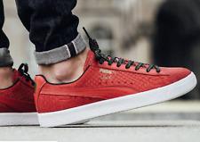 Halloween Price Cuts Women PUMA Clyde GCC Sneakers High Risk Red Black 9.5 f87c4ed80