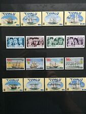 1990s TUVALU SHIP STAMPS - FULL SETS - MARITIME HERITAGE - MNH - (CH79)