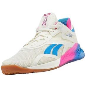 Reebok Women's Nano X Crossfit Gym Fitness Workout Trainers Shoes Sneakers Chalk