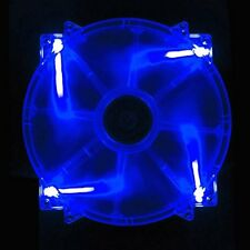 APEVIA CF20SL-UBL 200mm SILENT Blue LED Case Fan with 3Pin & 4Pin Connectors
