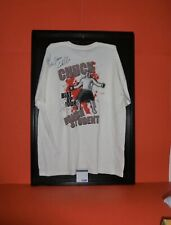 UFC Signed Chuck Liddell Shirt with Certificate of Authenticity PSA DNA