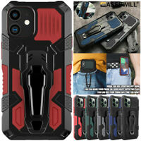 For iPhone 12 Mini 11 Pro X XS Max XR 8 7 6 Plus Shockproof Case With Belt Clip