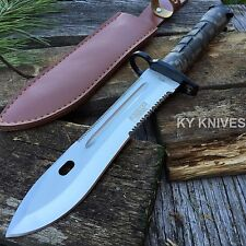 "13"" Military Survival Rambo Fixed Blade Hunting Knife Bayonet Tactical 6773-M"