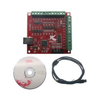 CNC USB MACH3 100Khz Breakout Board 4 Axis Interface Driver Motion Controller X-