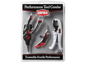 Rapala RPRTC Performance Tool Combo Pack (Pliers, Scissors, Gripper) - NEW