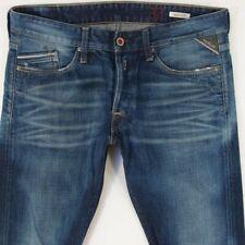 Da UOMO REPLAY Waitom Regular Slim Fit In Jeans Blu Chiaro