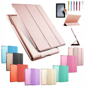 """Latest Ultra Slim Case For 2017 iPad 9.7""""5th Generation Smart Stand PU Leather"""