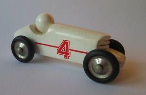 Record Vilac Wooden Car France vintage art deco