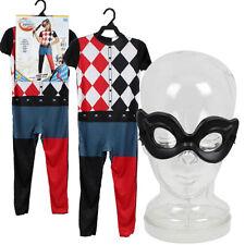 12 DC SUPER HERO GIRLS HARLEY QUINN Child Costume SIZES S-M LOT WHOLESALE NEW
