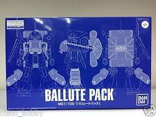 Premium Bandai 0176960 MG 1/00 Ballute Pack Nemo Rick Dias Hi-Zack Hyaku Shiki