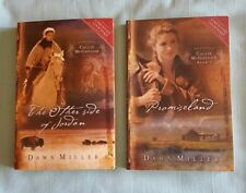 """Set Lot Vol 1&2 Promised land & The Other Side of Jordan by Dawn Miller PB""""S VG"""