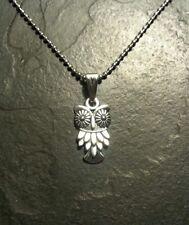 Owl Vintage Style Retro Necklace Charm Pendant Gift Present